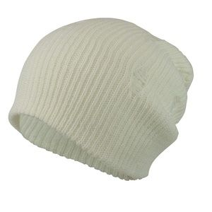 Distressed slouchy beanie NWOT